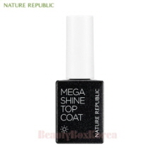NATURE REPUBLIC Sunny Gel Nail Mega Shine Top Coat 8.5ml [2018],NATURE REPUBLIC